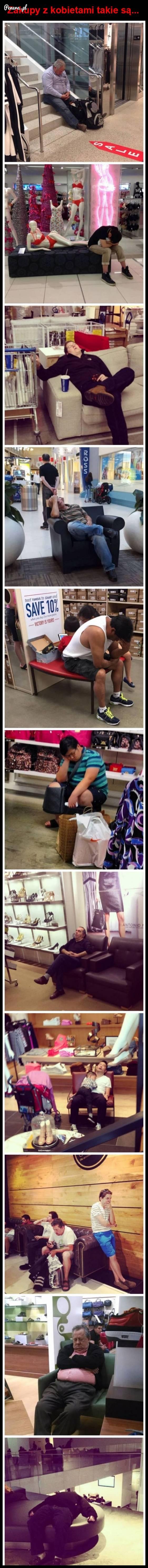 Zakupy z kobietami właśnie takie są