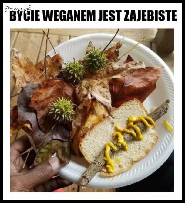 Bycie weganem jest za**biste