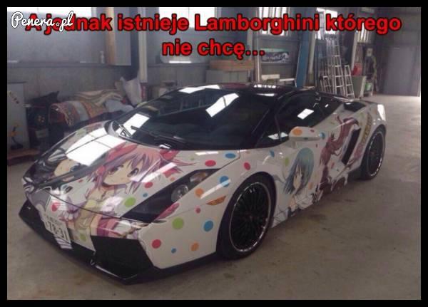A jednak istnieje Lamborghini którego nie chcę