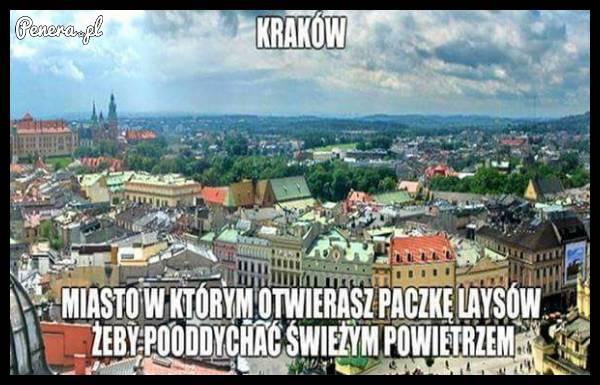 Kraków - Miasto w którym otwierasz paczkę Laysów aby...