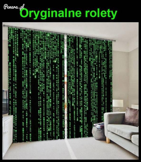 Oryginalne rolety