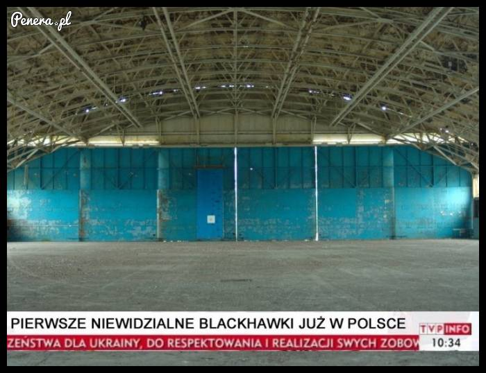 Pierwsze niewidzialne Blackhawki już w Polsce!