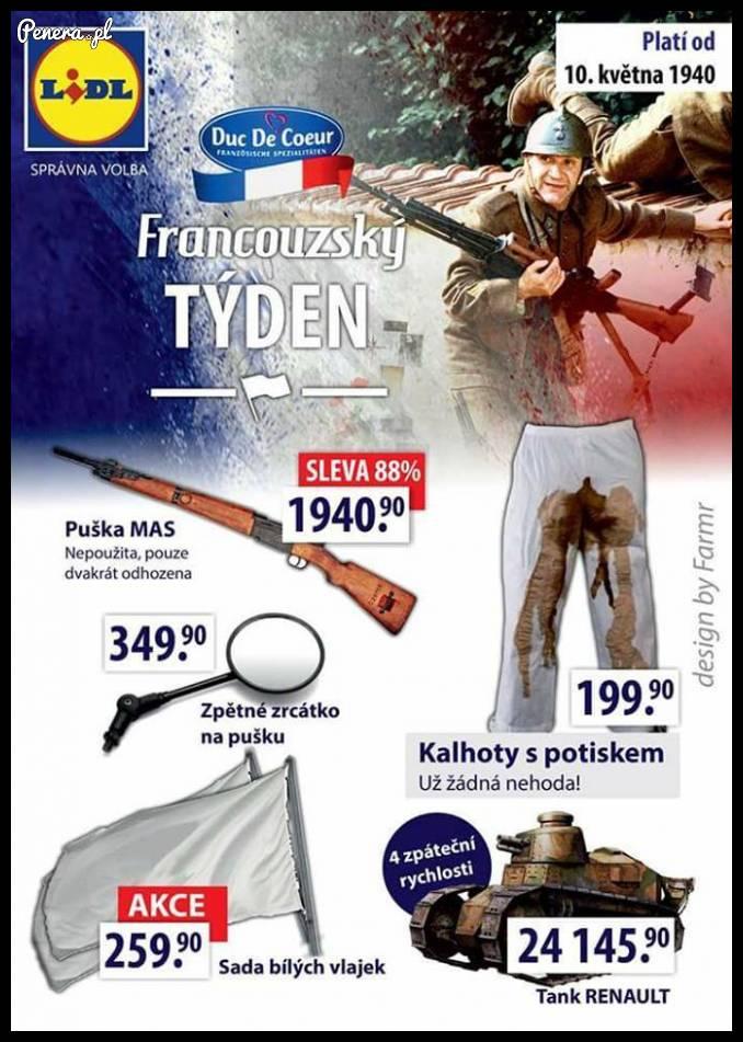 Francuski tydzień w Lidlu :D