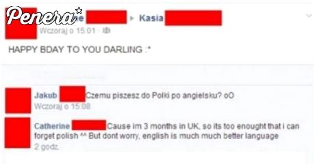3 miesiące w UK i Polskiego zapomina