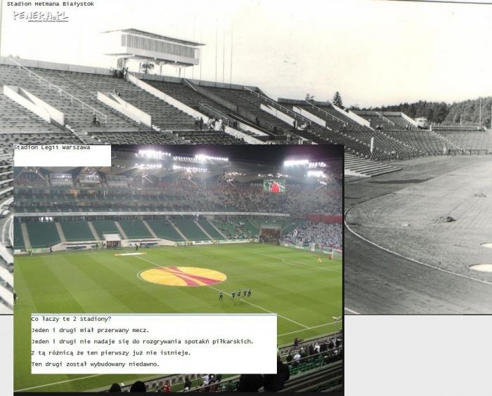 Bezpieczeństwo na stadionach kiedyś i dziś.