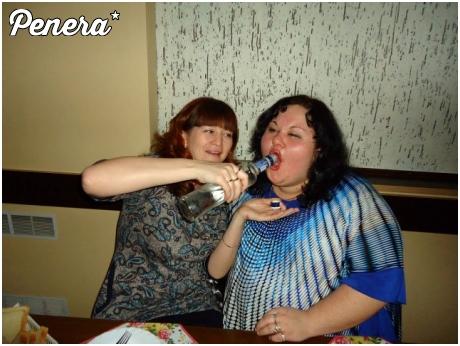 A tak piją rosyjskie baby