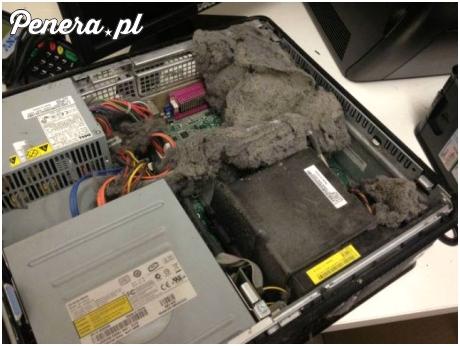 A Ty kiedy ostatnio odkurzałeś swój komputer?