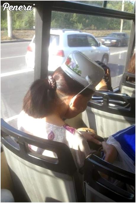 A w autobusie zakładam kas