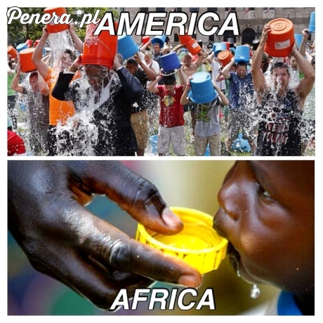 Ameryka kontra afryka