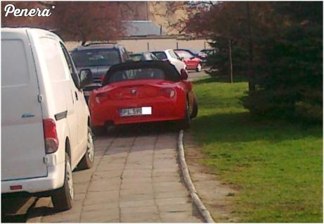BMW zobowiązuje do ch*jowego parkowania