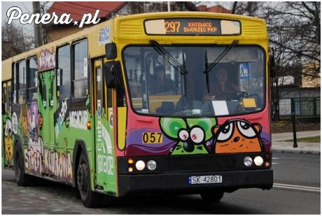 Całkiem fajne malowanie autobusu