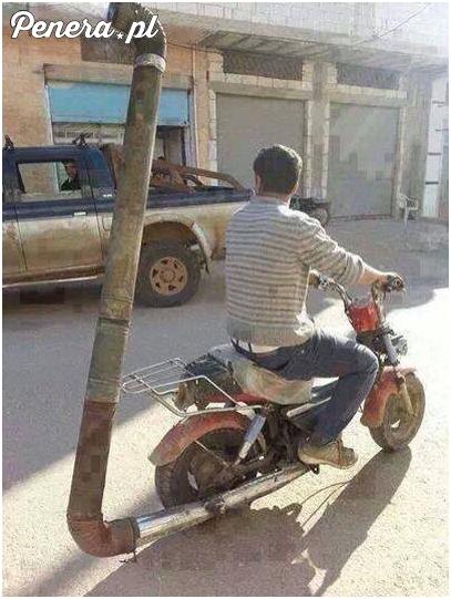 Chyba jeden z lepszych wydechów motocyklowych jakie widziałem