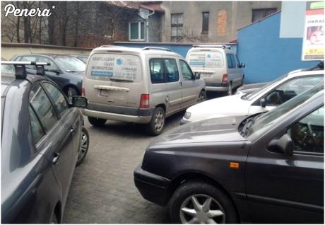 Ciasne parkowanie
