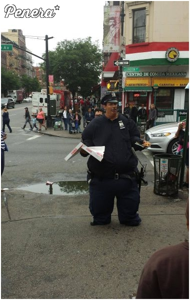 Ciekawe czy ten policjant kiedyś kogoś dogonił :D