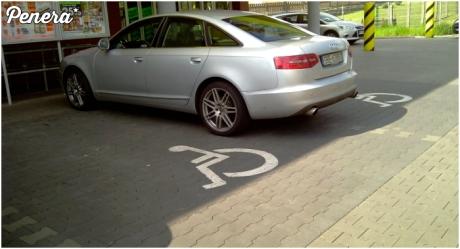 Co tam zająć jedno miejsce dla inwalidy