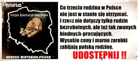 Co trzecia rodzina w Polsce