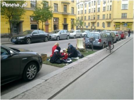 Cygański piknik w centrum miasta