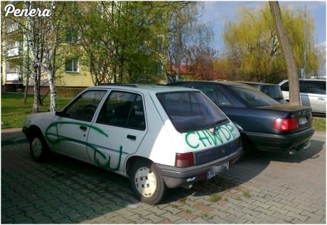 Czyżby auto jakiegoś policjanta?
