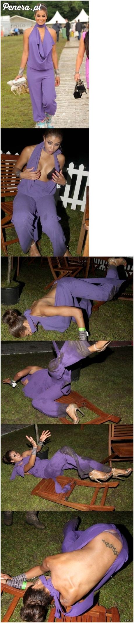 Dama kontra zbyt duża ilość alkoholu!