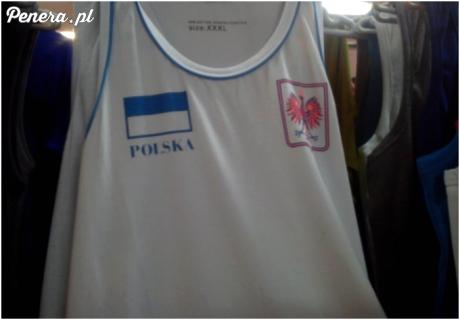 Flaga i godło Polski według chińczyków