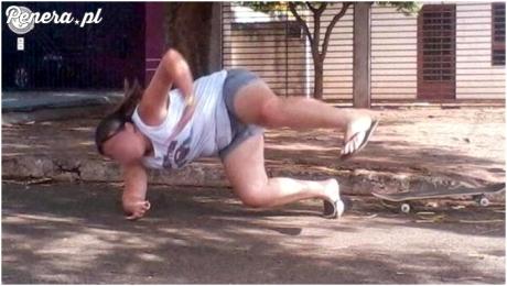 Google Street View uchwyciło tańczącą dziewczynę
