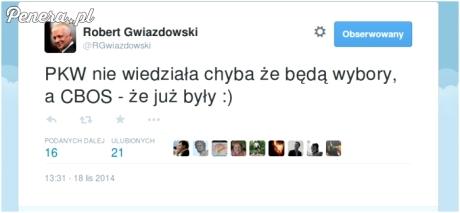 Gwiazdowski masakruje PKW i CBOS