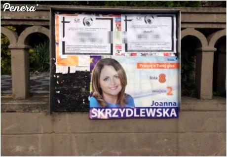 Idealne miejsce na plakat wyborczy