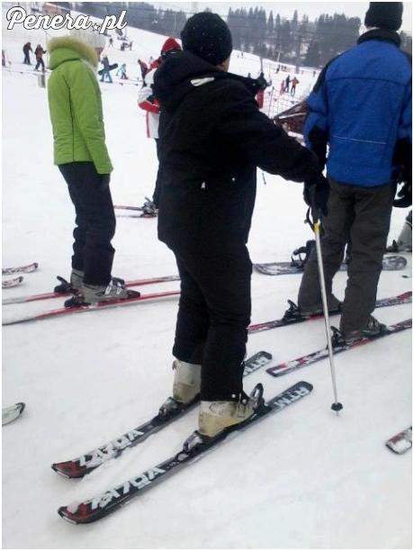 Idiotka na nartach