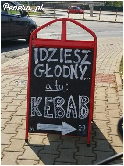 Idziesz głodny a tu...