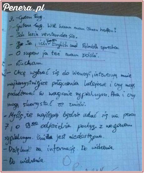Jak idealnie napisać klasówkę z niemieckiego
