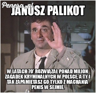 Janusz Palikot w latach 70