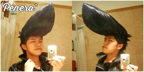 Jedna z debilniejszych fryzur jakie widziałem