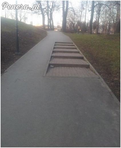 Jeśli to w Polsce to nie zdziwiłbym się gdyby to była... ścieżka rowerowa