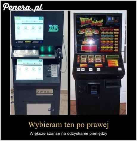 Który automat wybierasz?