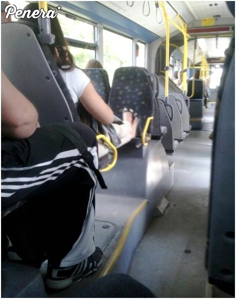 Kultura w miejskim autobusie