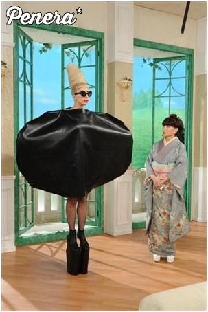 Lady Gaga i jej nowy strój