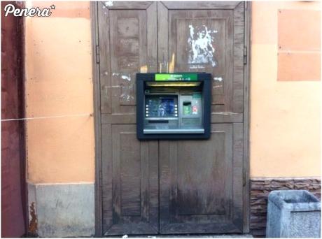 Lepszego miejsca na bankomat nie widziałem