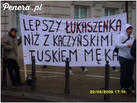 Lepszy Łukaszenka niż...