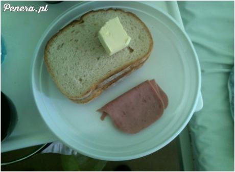 Luksusowa kolacja w polskim szpitalu