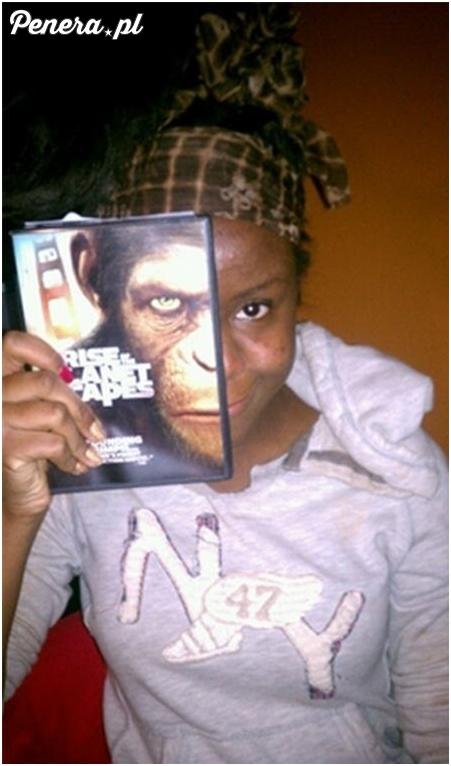 Małpa prawdziwe oblicze ;)
