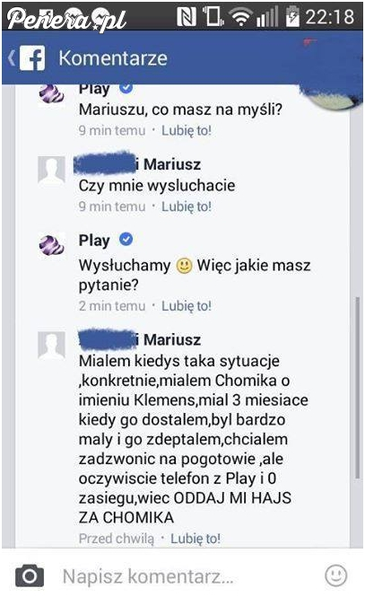 Mariusz potrzebuje pomocy