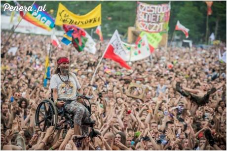Miejsce siedzące na Woodstocku