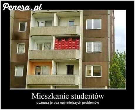 Mieszkanie studentów - trafisz tam bez problemu