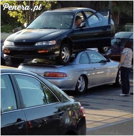 Mistrzyni parkowania przy braku miejsc na parkingu