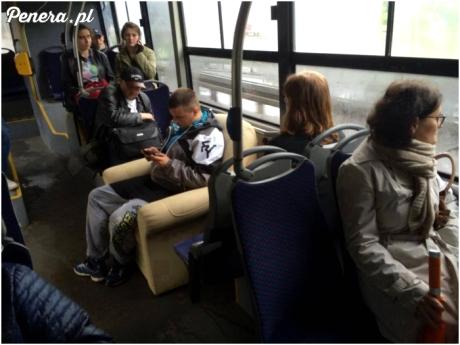 Na bogato w autobusie