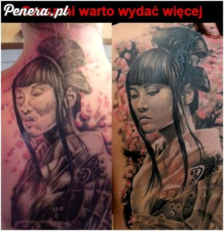 Na tatuażach lepiej nie oszczędzać