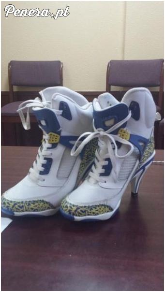 Najnowszy krzyk mody - buty na szpilkach