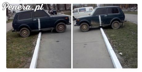 Następnym razem będzie wiedział jak parkować