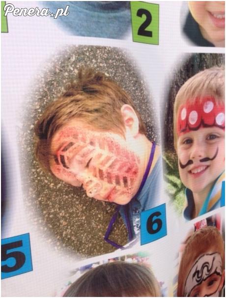 Nie am to jak zabawny makijaż dla dziecka