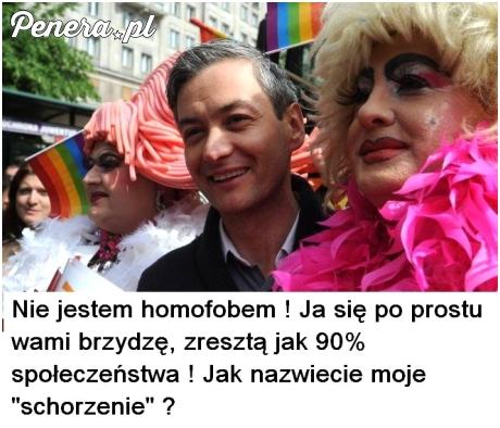 Nie jestem homofobe